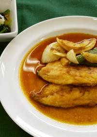 カレー南蛮漬け(健康食)