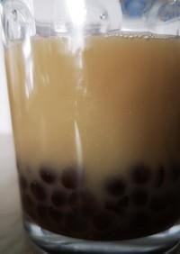 タピオカミルク麦茶