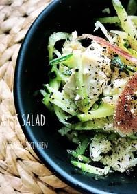 塩豆腐ときゅうりと茗荷のサラダ♪♪