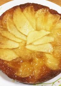 ホットケーキミックスでりんごのケーキ