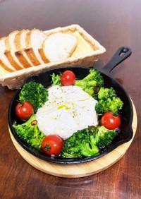アヒージョ♡チーズとブロッコリー