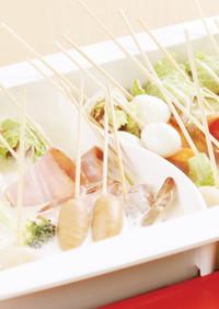串鍋(クリームだし・あっさりコンソメ)