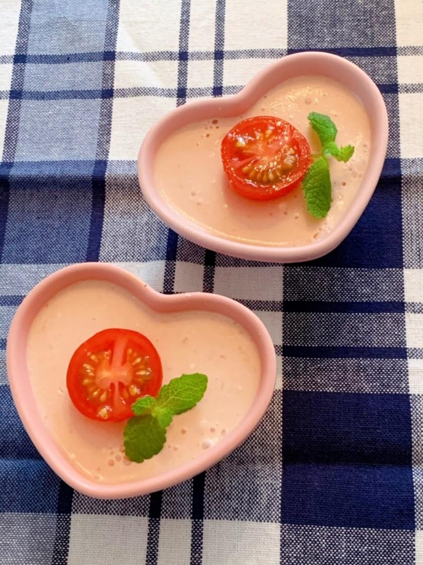 野菜スィーツトマトのムース