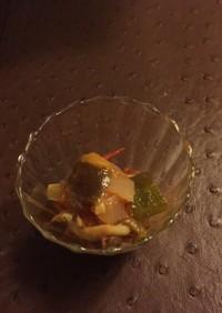 ミョウガが美味しいラタトゥイユ