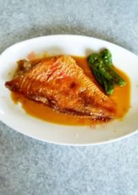 すき焼きのタレで赤魚煮