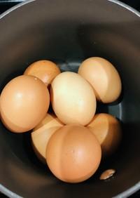 余熱調理 簡単温玉と半熟卵 2種類伝授♡