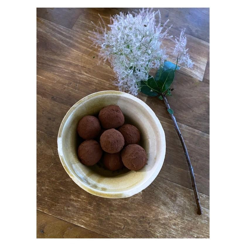みりん粕とコーヒー甘酒のブリスボール