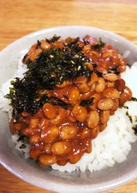 納豆ご飯 韓国風