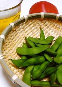 農家直伝!枝豆のおいしいゆで方
