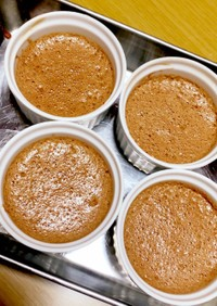 材料3つ☆レンジでつくる簡単チョコムース
