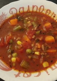 ハンバーガースープ