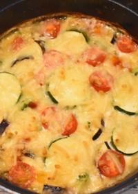 夏野菜のスペイン風オムレツ