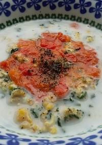 犬ご飯 トマトミルクドリア