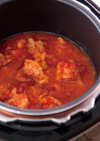 電気圧力鍋で簡単!チキンのトマト煮
