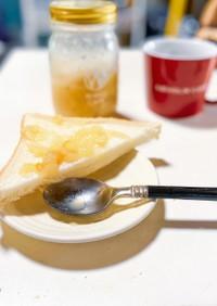 簡単!桃ジャム〜桃砂糖バター