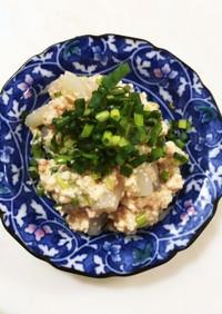 豆腐と蒟蒻のおつまみ☆明太味