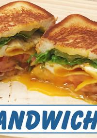 BLTホットサンドイッチ