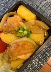 カレー風味のジャーマンポテトチキン