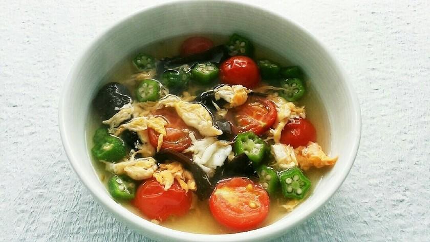 旬の食材☆夏のスープ☆