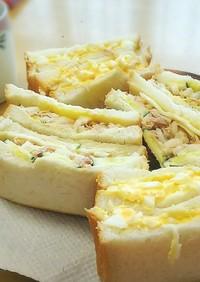 定番 卵のサンドイッチ