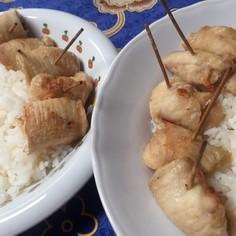 エアフライヤー唐揚げ風鶏胸肉ロール巻き