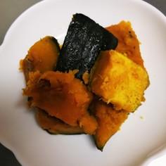 冷凍カボチャでレンジ調理!
