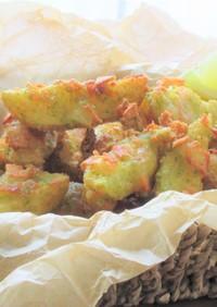 海苔塩ガーリックチーズポテトフライ