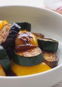 夏野菜の中華マリネ