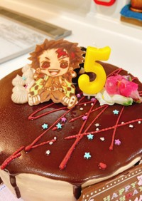 鬼滅の刃☆たんじろうケーキ