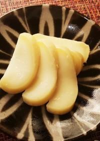 モッツァレラチーズの麹味噌漬け。