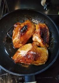 鳥むね肉の照り焼き 覚書