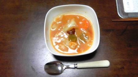脂肪燃焼スープ(味噌アレンジ)