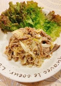 ☆☆豚こま肉とえのきのネギ塩ダレ炒め☆☆
