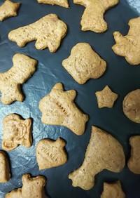 簡単!型抜きクッキー(ココア風味)
