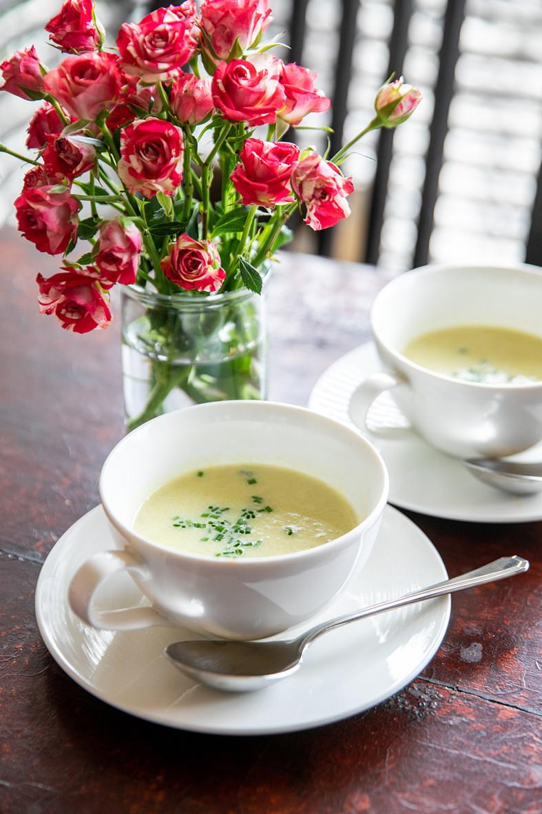 材料3つだけのリーキ・スープ