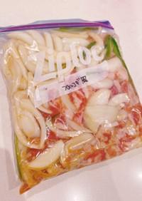 プルコギ風(冷凍保存で作り置き)