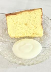 幸せの香り♪レモンのフォンケーキ