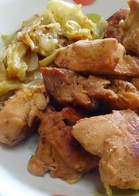鶏とキャベツでタッカルビ