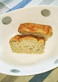 紫芋素麺のバウンドケーキ