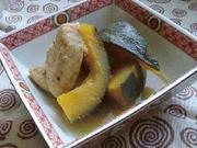 南瓜とがんもの含め煮の写真