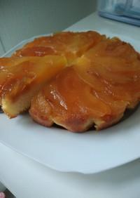 タルトタタン風りんごケーキ