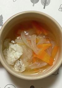 白身魚の野菜あんかけ(9~11か月)