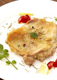 スモークトースターで「鶏のハーブ焼き」