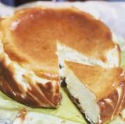 ダイエット中でも♪チーズケーキの写真
