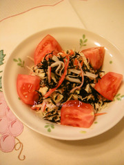 サラダ用 ひじきと切り干し大根の写真
