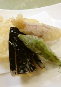 野菜の天ぷら(透析食)