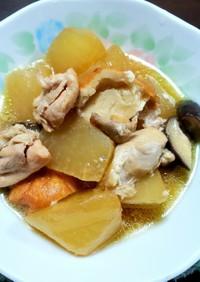 大根と鶏肉の煮物(☆∀☆)