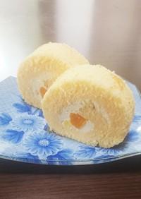 グルテンフリー 米粉ロールケーキ