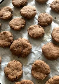 ノンオイル ふすまバナナクッキー