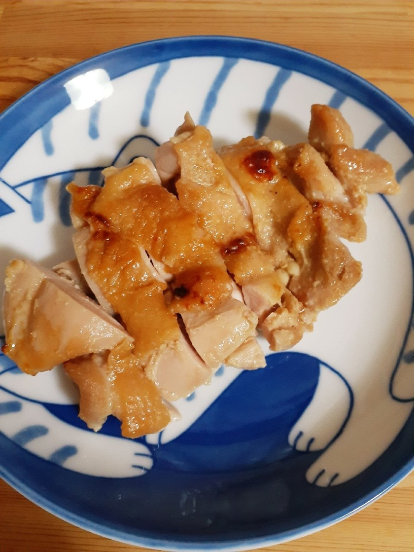 シンプルな鶏肉の味噌漬け